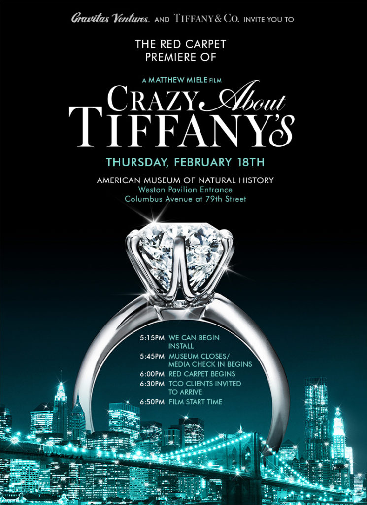 Crazy About Tiffanys evite