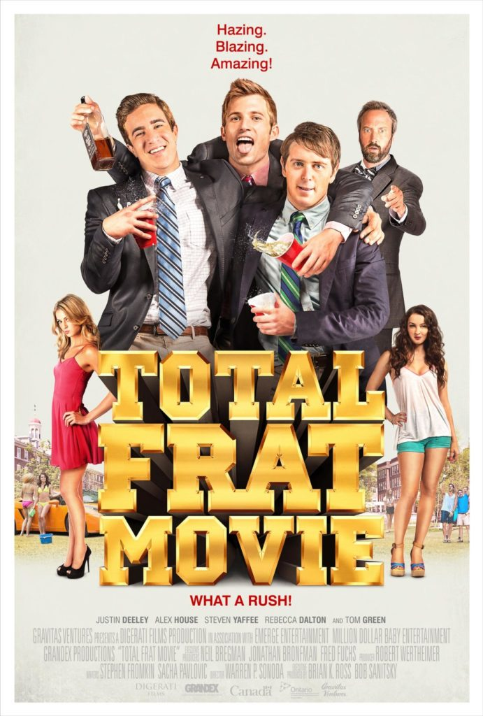 Total Frat Movie Key Art