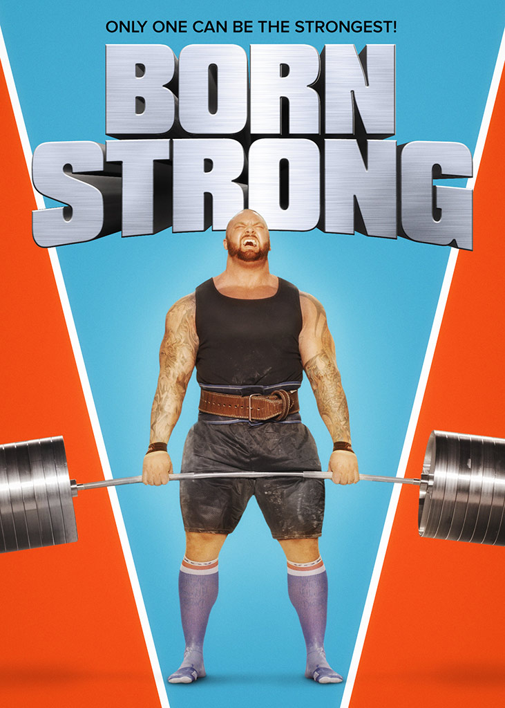 Born Strong Key Art